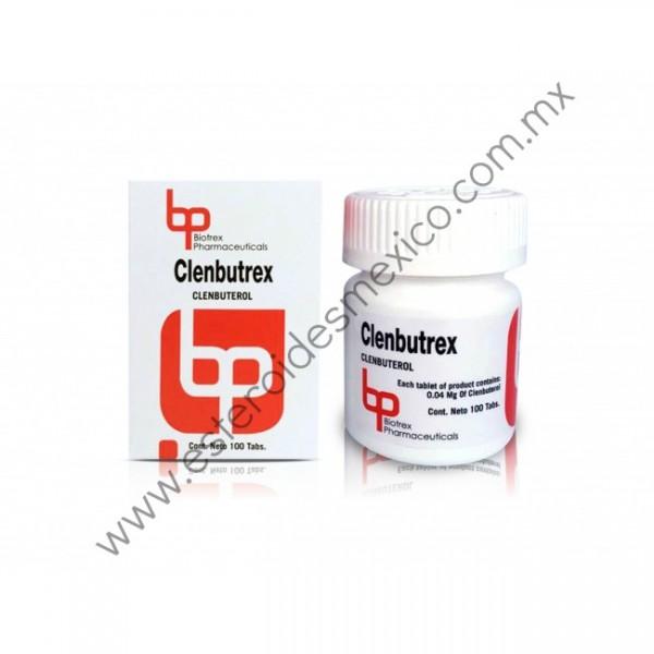 BIOTREX - CLENBUTREX 4 MCGR 100 TABS :: ESTEROIDES MEXICO