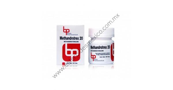 BIOTREX - METHANDROTREX 20 MG 100 TABS :: ESTEROIDES MEXICO