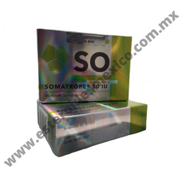 GERMAN LABS - SOMATROPE 50 UI