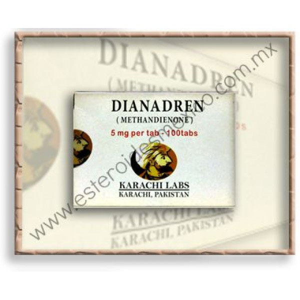KARACHI - DIANADREN 5 / 100 TABS