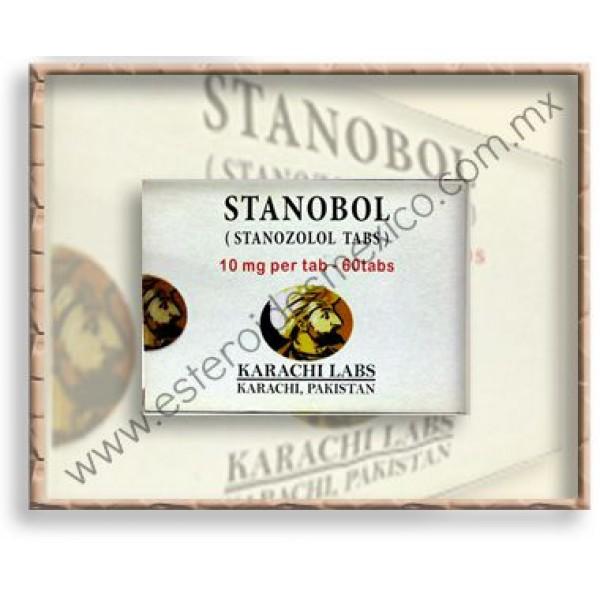 KARACHI - STANOBOL ORAL 10 / 60 TABS
