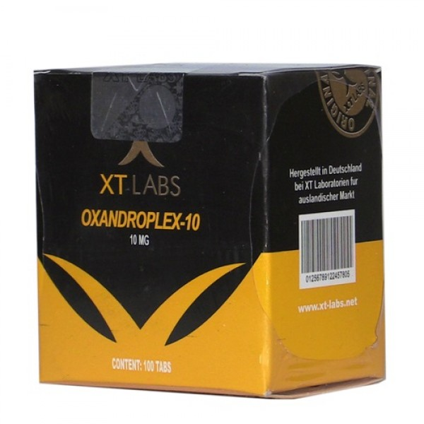 XT LABS - OXANDROPLEX 10 / 100 TABS