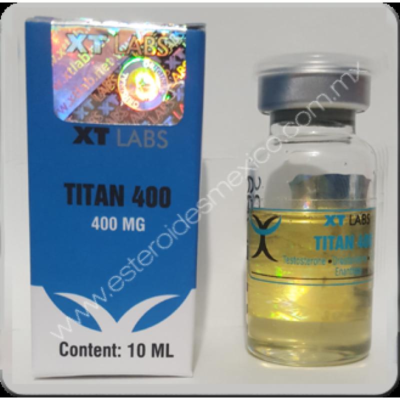 XTLABS | TITAN 400 / 10ML :: ESTEROIDES MEXICO